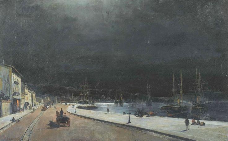 Σούρουπο στο λιμάνι