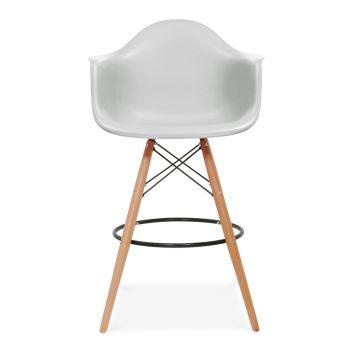 Amazing Iconic Designs DAW Style Stool Light Grey cm