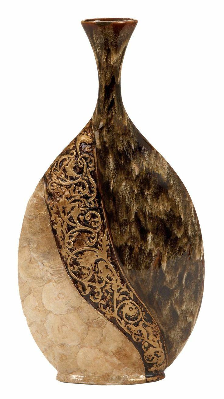 28 best art deco is divine images on pinterest decorative ceramic vase with capiz shell accents reviewsmspy