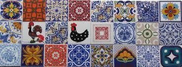 E na casa da Aline...: Azulejos antigos e coloridos...