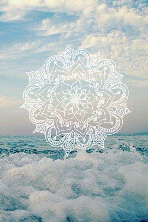 Imagen de wallpaper, mandala, and sea