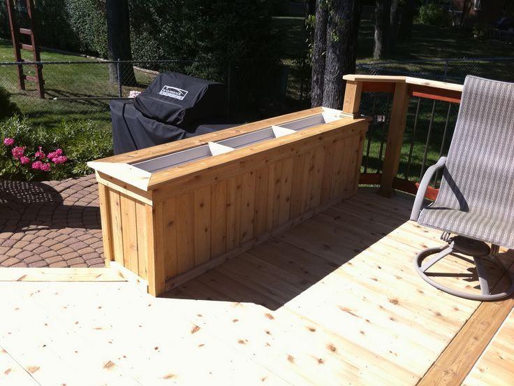 Deck Planter Boxes Home Depot Home Design Ideas Back