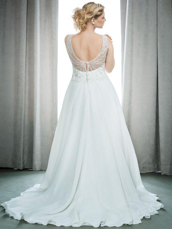 Femme By Kenneth Winston Style 3395 Curvy Bride Designer Wedding Gowns