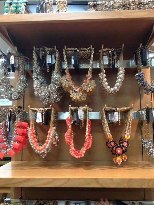 Obsessed with J. Crew chunky necklaces. Wish I could have every single one of these