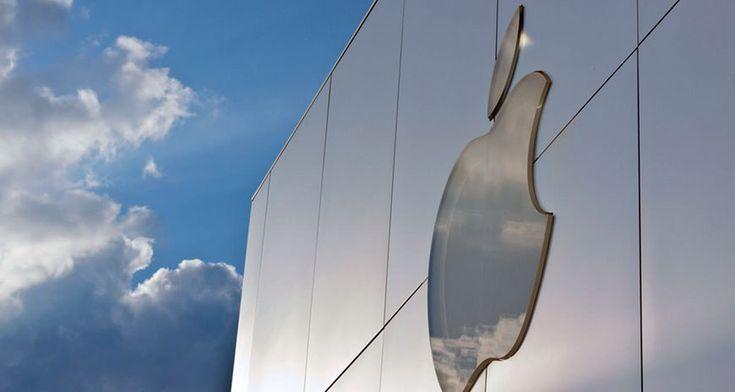 Diatas lahan sewaan di kawasan London, Inggris. Apple berecana akan membangun kantor pusat baru