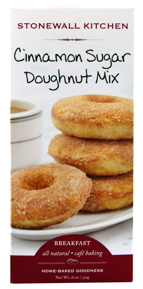 Stonewall Kitchen Doughnut Mix Cinnamon Sugar