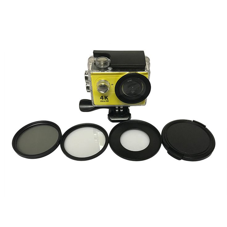 Tekcam Eken Accessories H9 52mm CPL Circular Polarizer Filter UV Lens Cover for Eken V8S H9 h9r h9se H8 h8r h8pro h8se H3 h3r