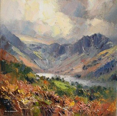 Rex PRESTON-Reflected Light, Buttermere
