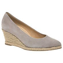 Buy Gabor Paisley Wedge Heeled Court Shoes, Beige Online at johnlewis.com