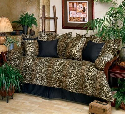 Leopard Daybed Cover Set Daybeds Pinterest Daybed