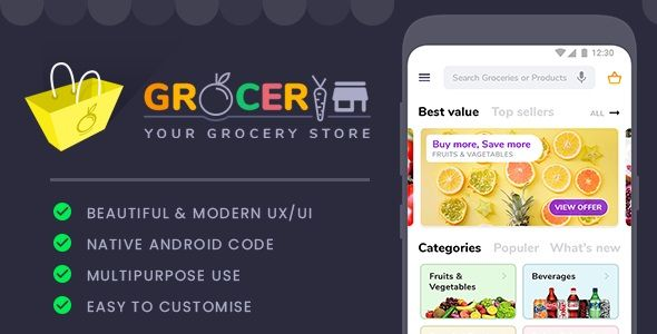 Grocery Store Template Nulled | Nulled Wordpress Themes | Grocery