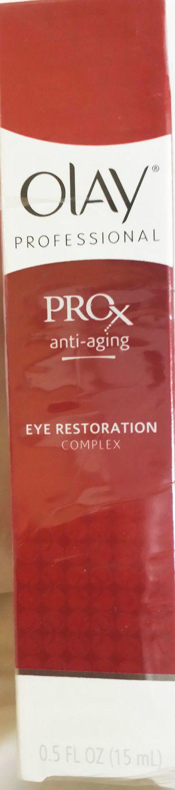 Olay ProX Eye Restoration Complex anti-aging 0.5 fl.oz. DAMAGED BOX SPECIAL
