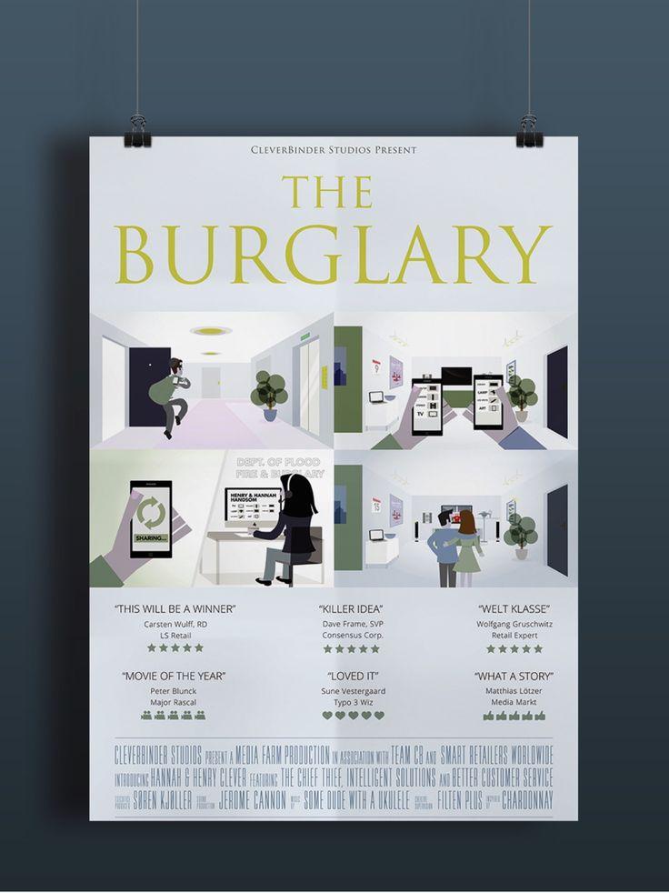 Movie Poster - The Burglary