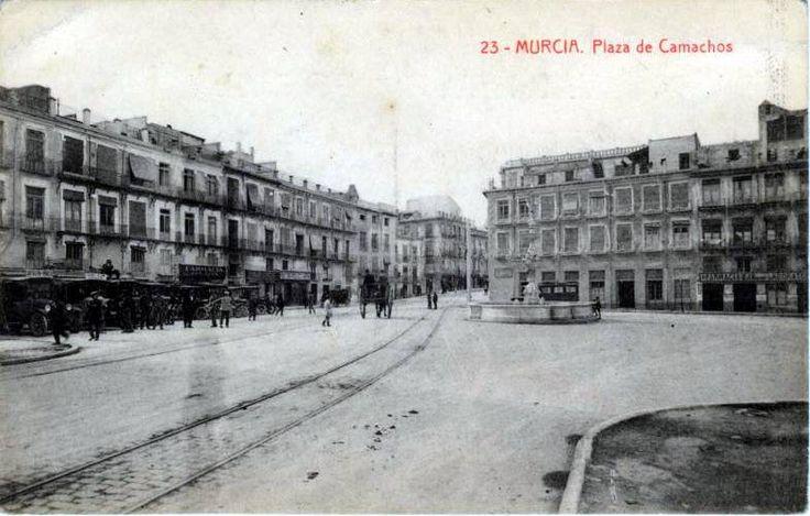 plaza camachos c 1900