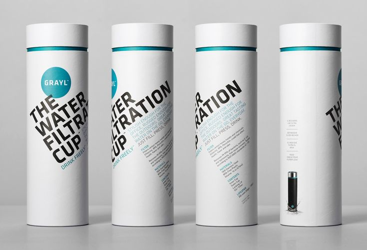 Grayl's Water Filtration Cup by Turnstyle