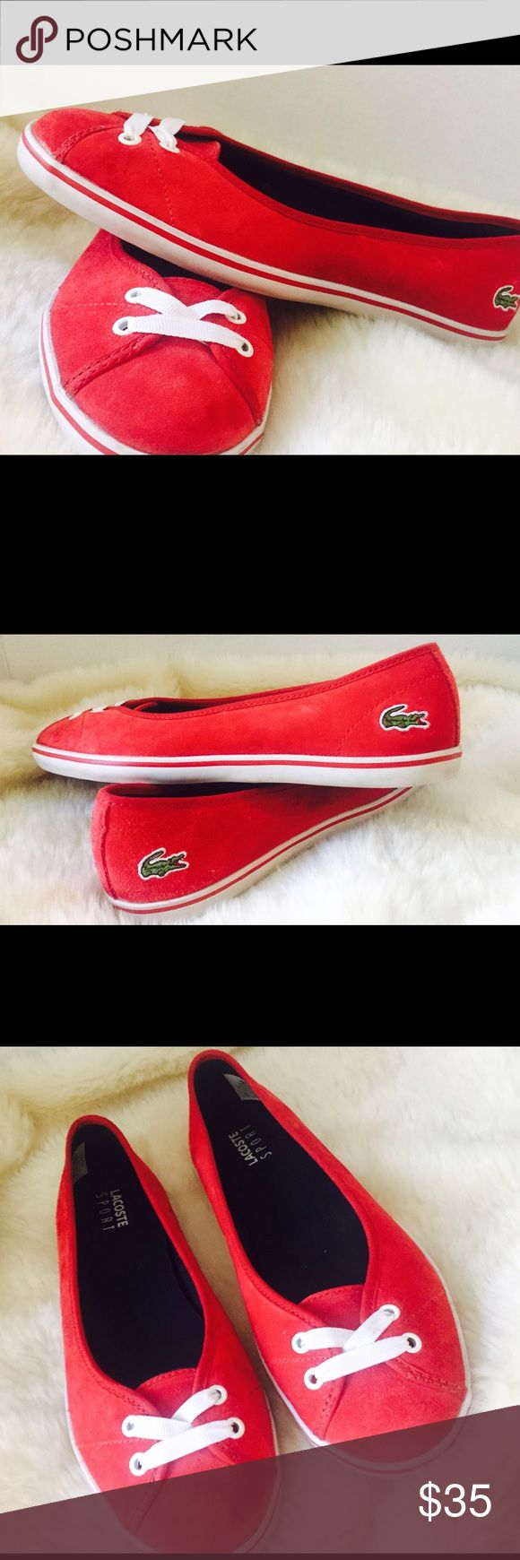 Lacoste ‼️sale‼️ Ladies lacoste sport sneakers  Size 7 Light and comfortable   $35 Lacoste Shoes Sneakers