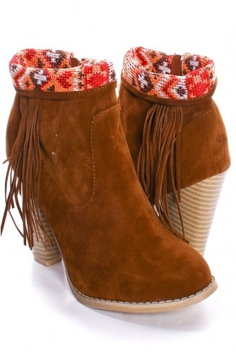 Fringe BootsToes Fringes, Point Toes, Tans Faux, Fringes Finish, Fringes Boots, Booty Lac, Finish Booty, Fringes Booty, Cheap Booty