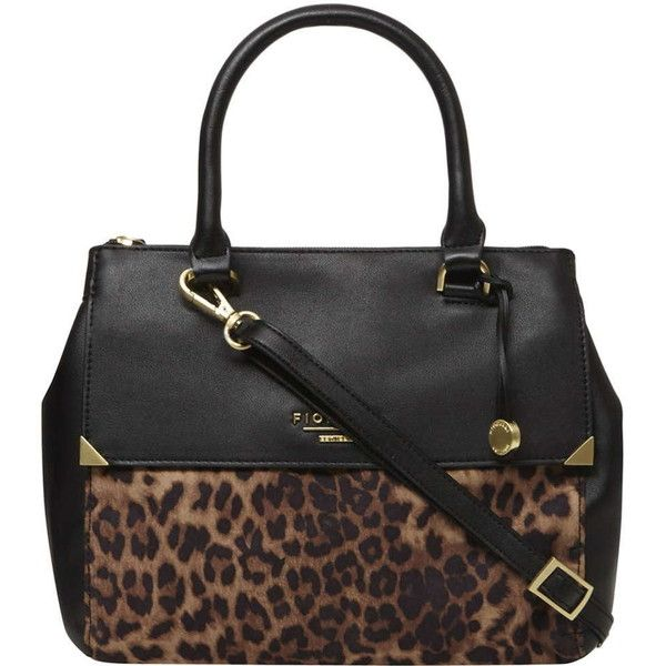 **Fiorelli leopard Mia tote bag ($99) ❤ liked on Polyvore featuring bags, handbags, tote bags, leopard, leopard print purse, handbags totes, fiorelli purses, leopard handbag and tote handbags