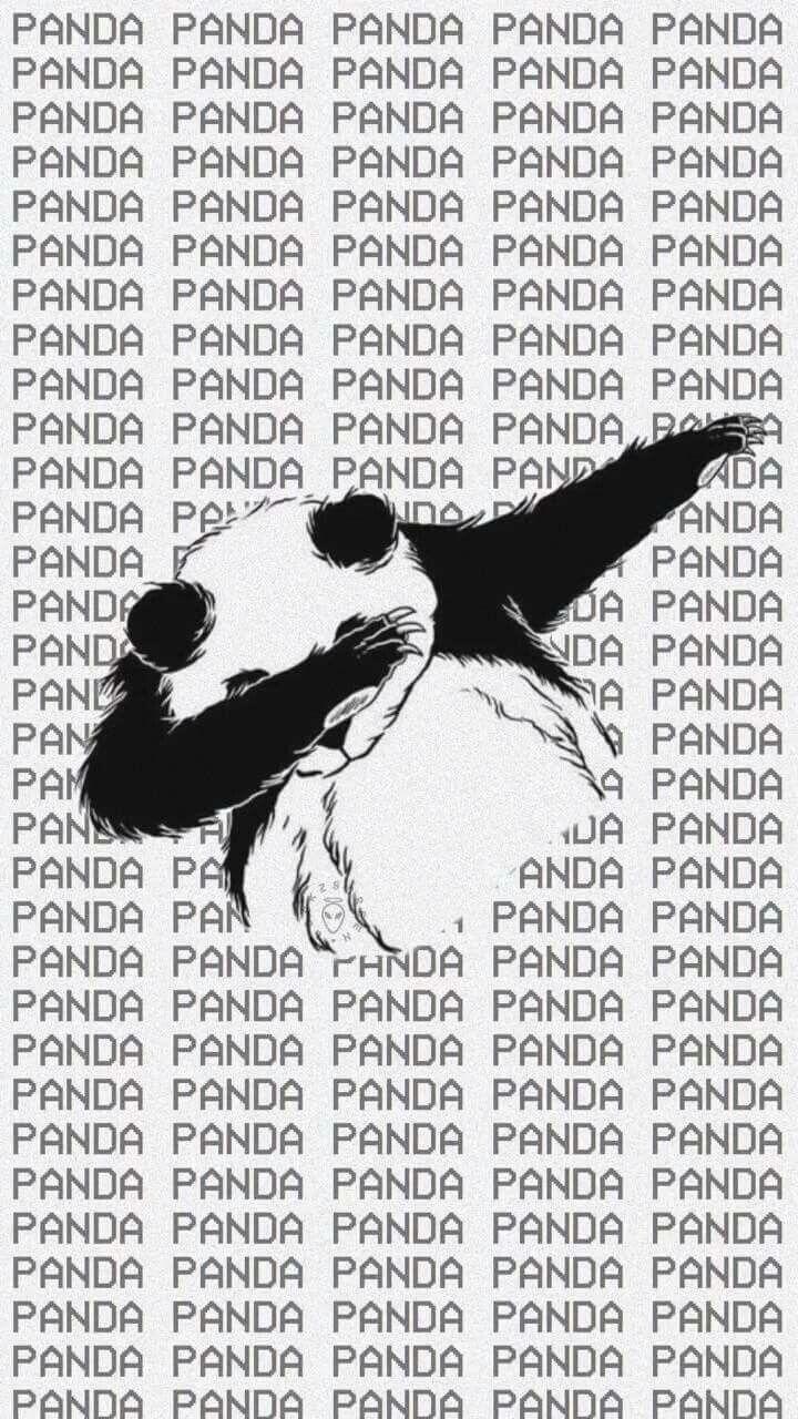 Ese panda tiene más estilo que yo xD