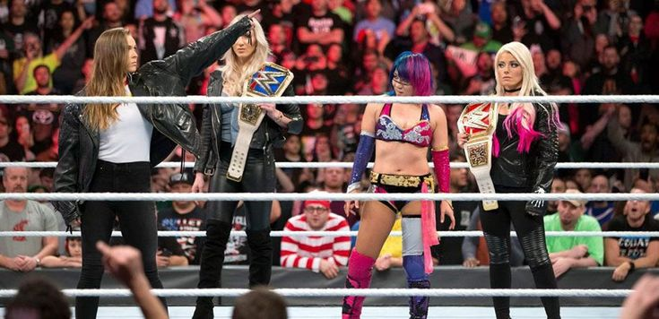 Ronda Rousey puts The WWE ladies on notice. That she is now on the roster.