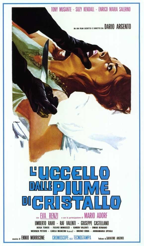 Bird With Crystal Plumage Italian 20x40 Movie Poster 1971