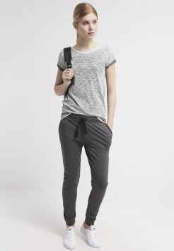 TWINTIP - Jogginghose - grey melange/black