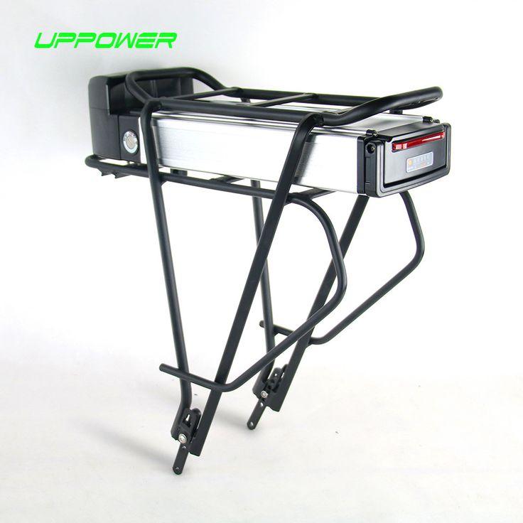 US EU No Tax Electric Bicycle rear rack Battery 36V 13Ah eBike Battery for 36V 250W 350W Bafang BBS01 mid hub Motor kit