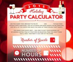 Holiday Party Calculator - @evite http://ideas.evite.com/holiday-party-calculator/