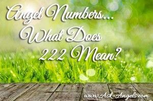 What Does 222 Mean? Gain insight into the power of angel numbers and how to understand the meaning of 222 and other angel number sequences you may see.
