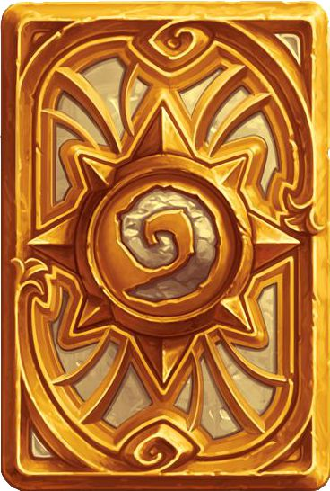 "The Card Backs of Hearthstone - ""Golden Celebration"""