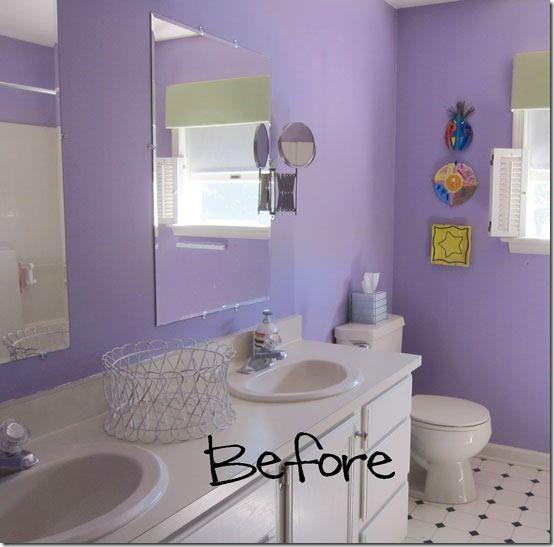 Bathroom Mirror Update Ideas best 25+ purple bathroom mirrors ideas only on pinterest   purple