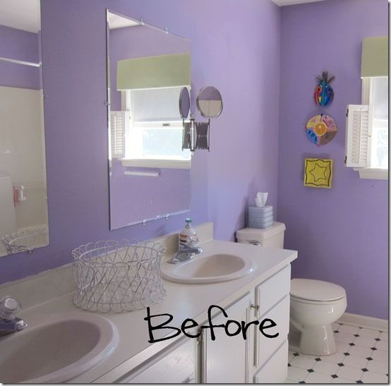 Diy Painting Bathroom: DIY Bathroom Update–Mirrors