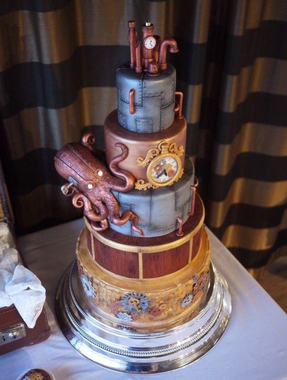 Steampunktårta Cake