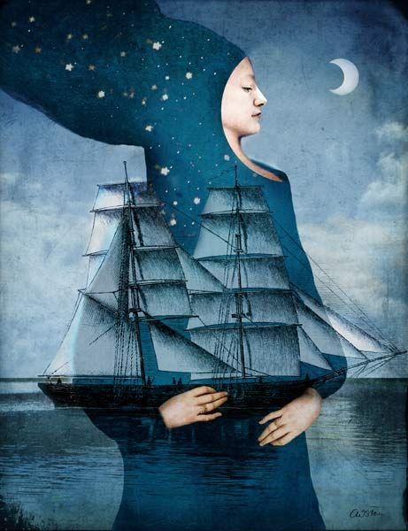 Titre de l'image : Catrin Welz-Stein - Blue Moon