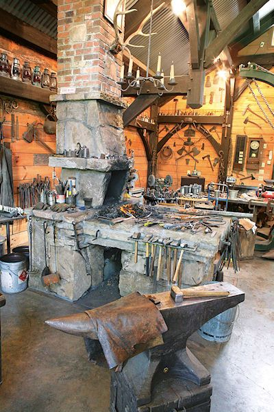 Kris Forge and Workshop | Brasstown NC | North Carolina