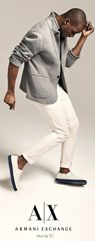 Armani Exchange   Men's Fashion   Menswear   Men's Casual Outfit for Spring/Summer   Moda Masculina   Shop at designerclothingfans.com
