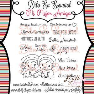 ~Sellos en español DILO EN ESPAÑOL