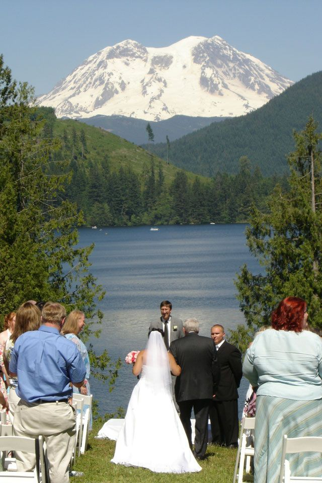 Another Venue Option--Mount Rainier Mineral Lake Wedding Accommodations