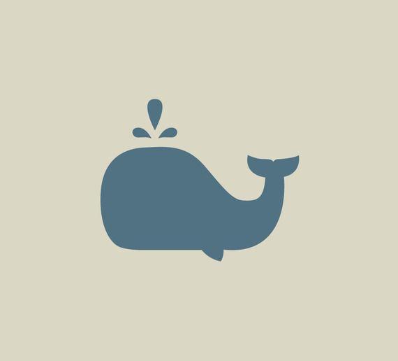 Baleine. Pochoir de baleine. Pochoir en vinyle adhésif. (ref 227-1)