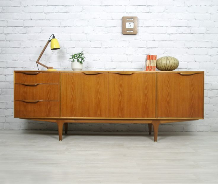 Vintage 1960s Teak sideboard manufactured by A.H McIntosh.