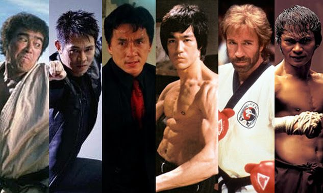 bruce lee, jack... Jackie Chan Bruce Lee Jet Li