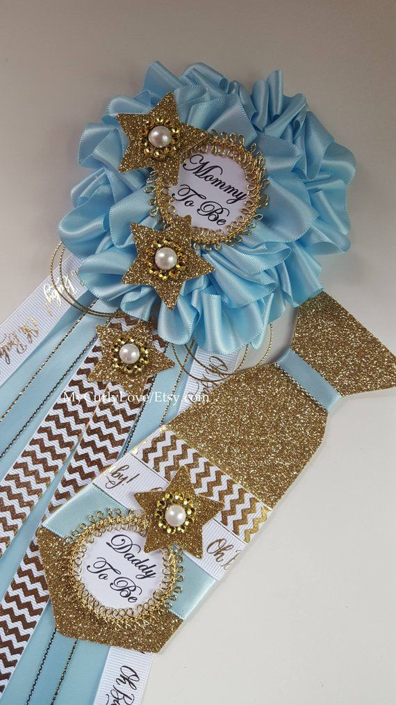 Star Baby Shower Mommy To Be Corsage Twinkle Star Baby Shower