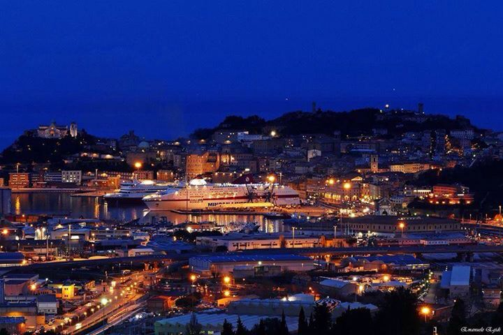 Ancona by night