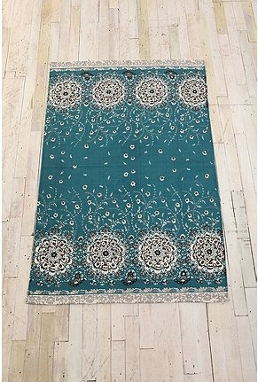 rug for peacock room