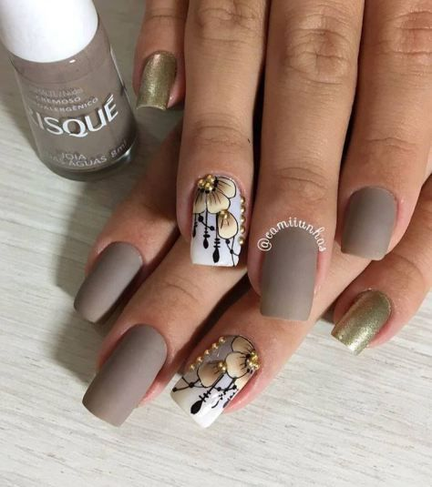 cute simple nail design