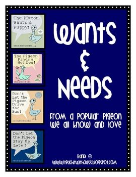Needs & Wants using Pigeon.