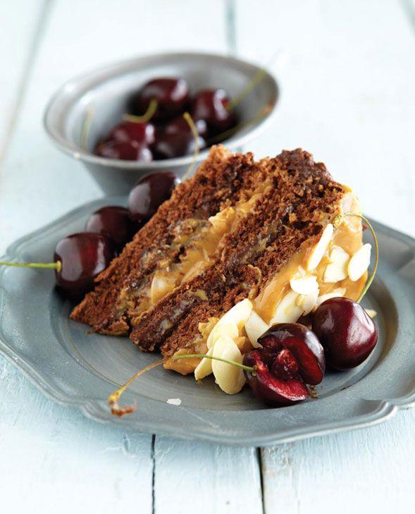 BRYAN HABANA'S DECADENT CHOCOLATE CAKE! Get the recipe here - www.intrepidexplorer.co.za