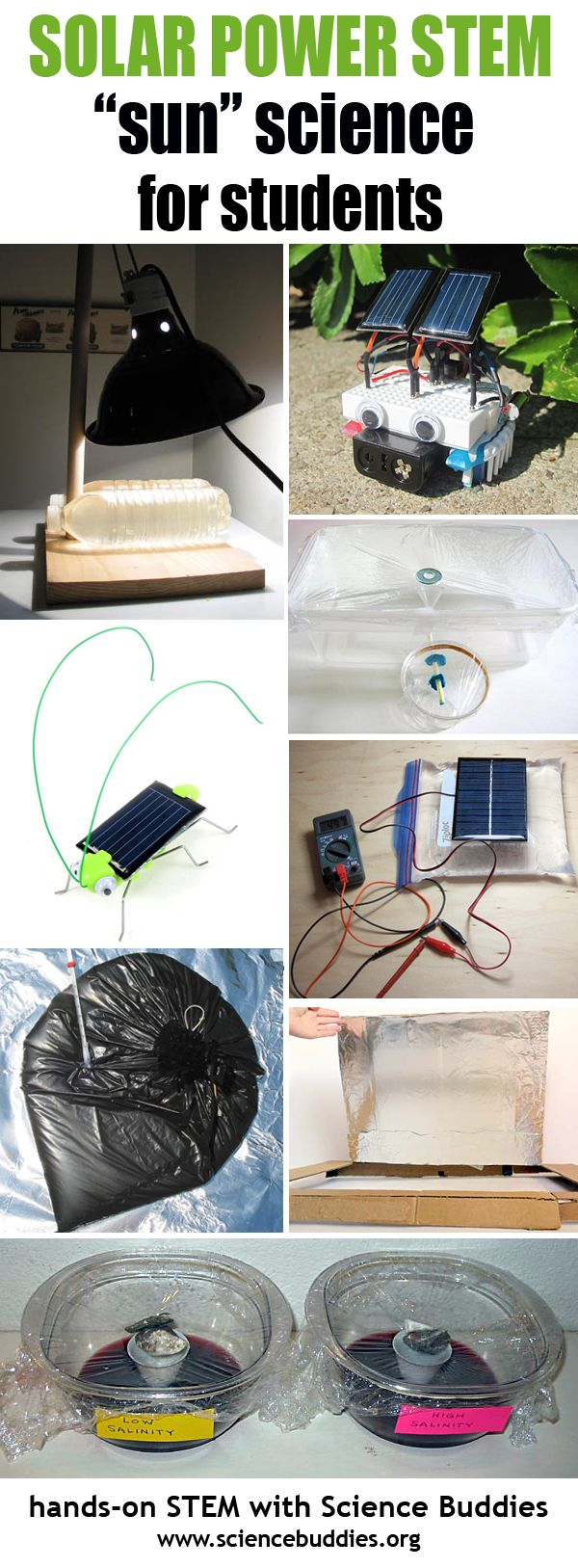 Solar Power Roundup / Student Science Projects