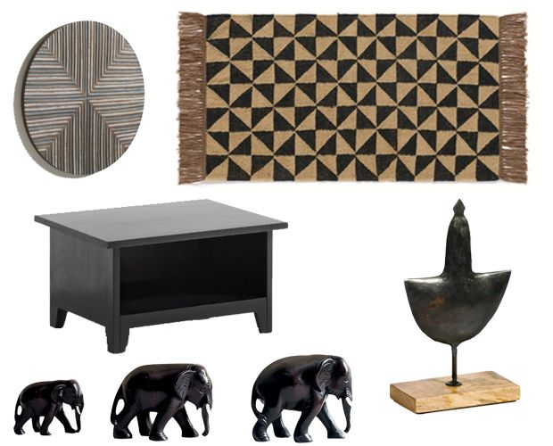 72 best deco africain et ethnique images on pinterest. Black Bedroom Furniture Sets. Home Design Ideas