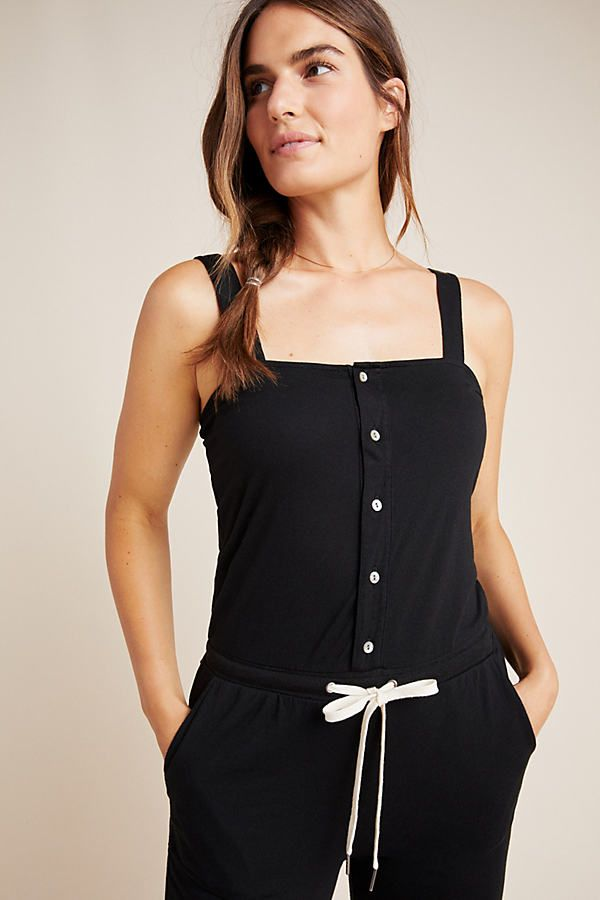 Refresh Jumpsuit by n:Philanthropy in Black Size: S, Women's Jumpsuits at Anthropologie 2